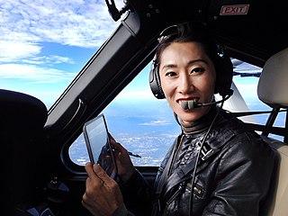 Wang Zheng (pilot) Asian woman who flew solo around the world