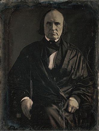 John McLean - Image: Justice John Mc Lean daguerreotype by Mathew Brady 1849