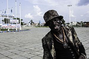 La Sape - A sapeur in Kinshasa (2014)