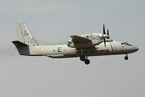 2016 Indian Air Force An-32 disappearance - An Indian Air Force Antonov An-32, similar to the missing aircraft.