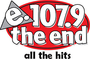 KDND - Final logo as 107.9 The End before 2017