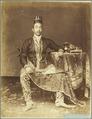 KITLV 4042 - Kassian Céphas - Pangeran Adhipatti Ario Mangkoe Boemi in court dress at Yogyakarta - 1889.tif