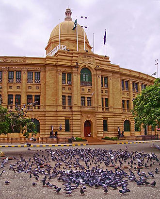 Port of Karachi - Administrative building of Karachi Port Trust