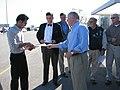 KY Bruce Lunsford leafleting at GE Plant (2992622778).jpg