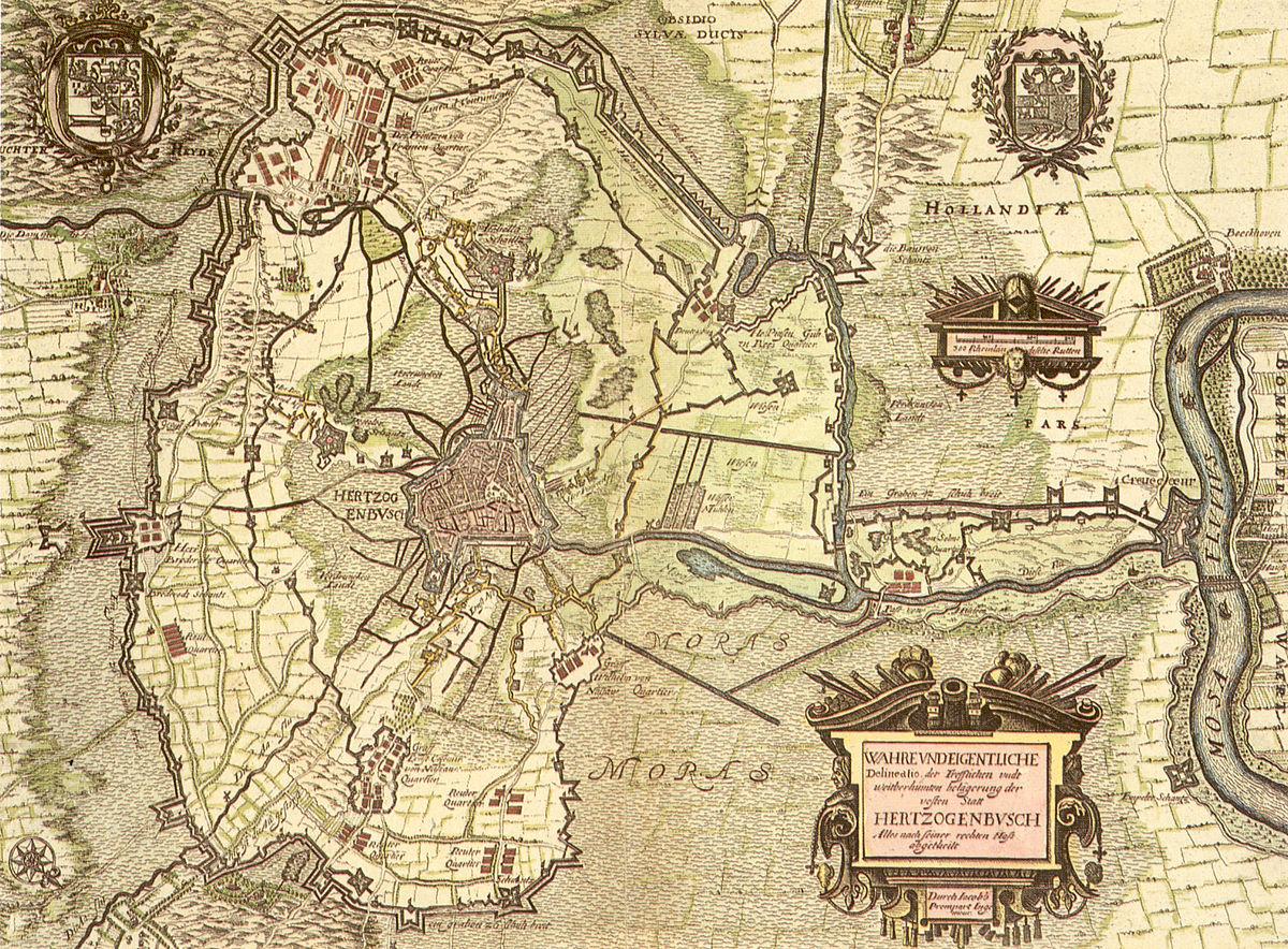 Circumvallatielinie S Hertogenbosch Wikipedia