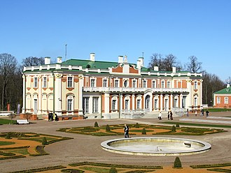 Harju County - Russian Tsar Peter I started the construction of Kadriorg Palace near Tallinn and named it after his wife Catherine I (Catherinethal).