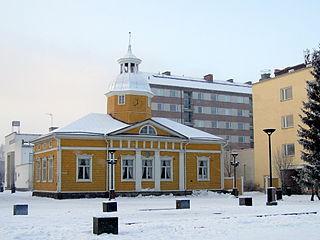 Kajaani Town in Kainuu, Finland