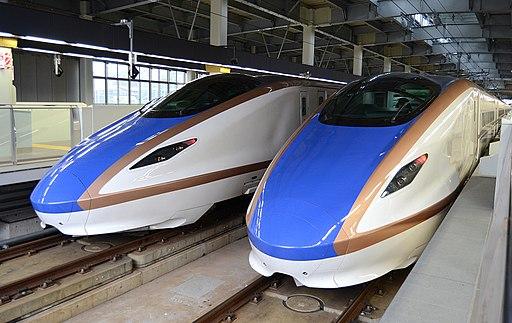 Kanazawa station E7・W7