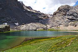 Karagöl - Black Lake, Bolkar Mountains.JPG