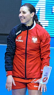 Karolina Kudłacz-Gloc Polish handball player
