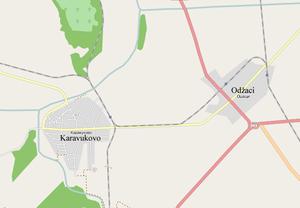 Karavukovo - Map of Karavukovo
