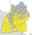 Karte Gemeinden Baden-Württemberg März 2013 Artikel alswiki.png