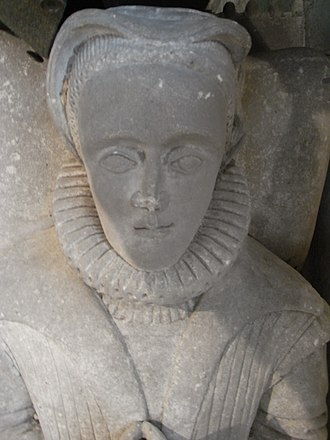 Walter Buckler - Effigy of Sir Walter Buckler's wife, Katherine Denys, Church of St Mary the Virgin, Fairford