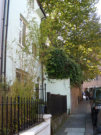 Anna Kavan - Kavan's House in Peel Street London