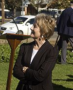 Kay Hull at the Reserve Forces Day service in Wagga Wagga.jpg