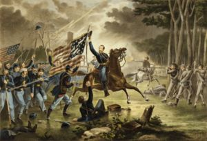 Battle of Chantilly - General Kearny's gallant charge