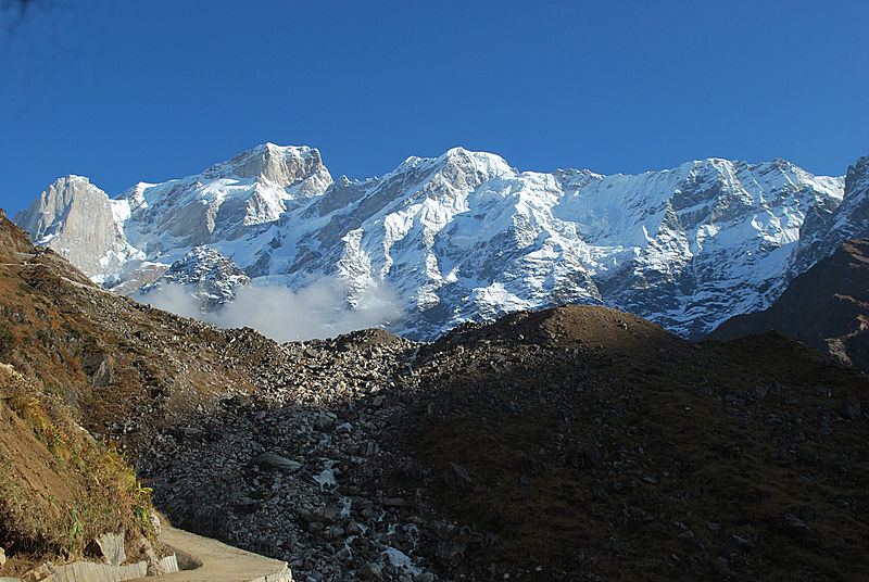 Kedar Range, Greater Himalayas, India