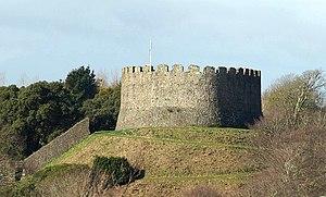 Feudal barony of Trematon - Trematon Castle, caput of the feudal barony of Trematon