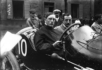 Kenelm Lee Guinness - 1914 French Grand Prix, (retired)