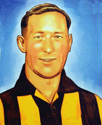 Hawthorn Football Club - John Kennedy Sr. is the Hawks' first premiership coach. Hawthorn honoured him with a bronze statue in front of Waverley Park