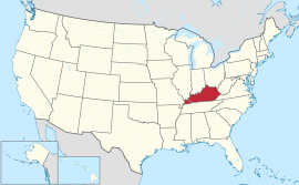 Kentucky in United States.svg