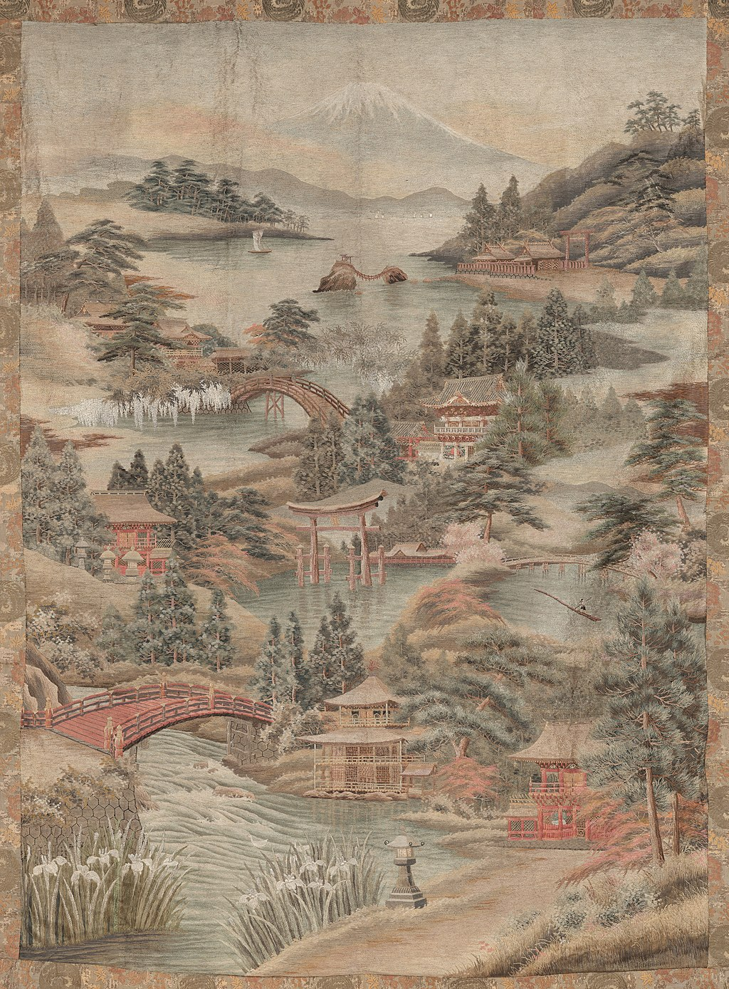 Khalili Collections A Composite Imaginary View of Japan