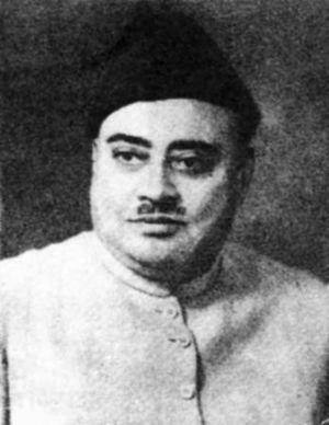 Governor-General of Pakistan - Image: Khawaja Nazimuddin of Pakistan