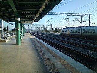 Kiato railway station