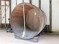 Kikunoyo Brewery large vat 2014 Museum Meiji Mura.jpg