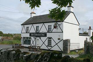 Kilbricken Town in Leinster, Ireland