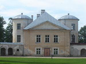 Kiltsi Manor - Kiltsi Manor main building before restoration work in 2008–2010