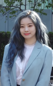 Kim Dahyun at the KBS Music Bank 2019.png