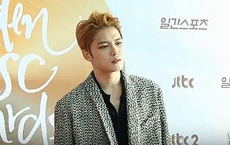 Kim Jae-joong - Image: Kim Jaejoong at the Golden Disc Awards, 2017