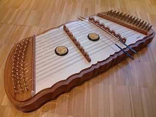 Khim stringed musical instrument from Persia, similar to a hammer dulcimer or cimbalom