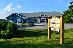 King, Ontario - King City Library branch of the King Township Public Library System.