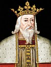 Edward III as he was depicted in the late 16th century
