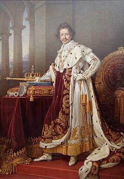 King Ludwig I of Bavaria in Coronation Regalia