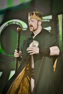 King Sheamus 2010 Tribute to the Troops.jpg