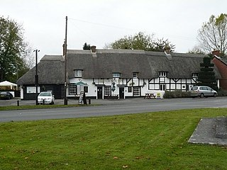 Kings Somborne village in United Kingdom