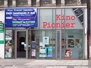 History of cinema in the United States - The Pionier Cinema in Szczecin, Poland