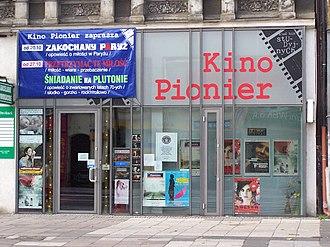 History of cinema in the United States - The Pionier Cinema in Szczecin, Poland