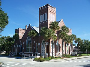 National Register of Historic Places listings in Osceola County, Florida - Image: Kissimmee FUMC01