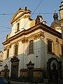 Klášter trinitářů - areál fary s kostelem Nejsv. Trojice (Nové Město), Praha 1, Spálená 6, Nové Město.JPG