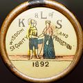 Knights and Ladies of Security pin button 2016-11-03.jpg