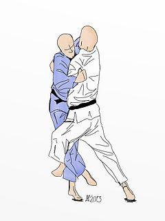 Kosoto gake Judo technique