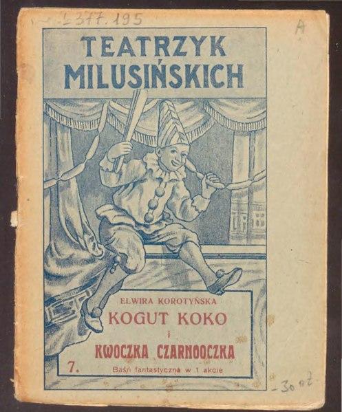 File:Kogut Koko i Kwoczka Czarnooczka.djvu