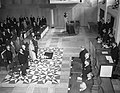 Koningin Juliana opent nieuw Provinciehuis te Arnhem, Bestanddeelnr 906-7193.jpg