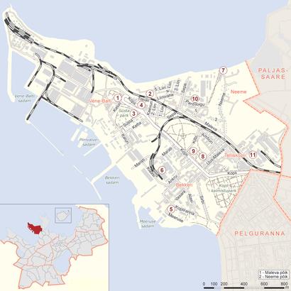 Kuidas ühistranspordiga sihtpunkti Kopli jõuda - kohast