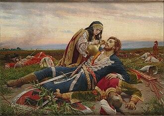 Ottoman Serbia - Kosovka devojka (The Kosovo Maiden), a picture by Uroš Predić