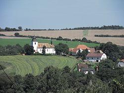 Kostel sv Vaclava v obci Zdar 01.JPG